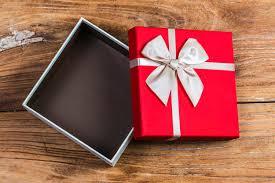 Sed agradecidos, No lo dejes en la caja de regalo...