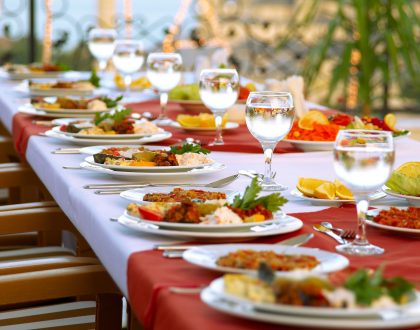 Un banquete de gracia