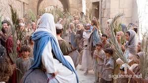Entrada triunfal de Jesus a Jerusalén