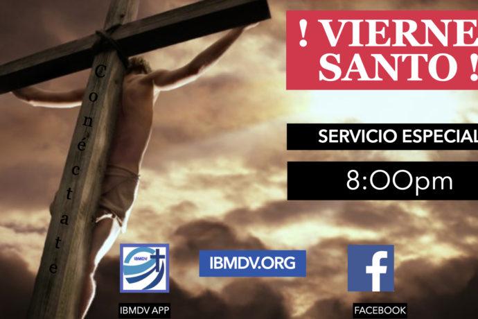 Servicio especial Viernes Santo